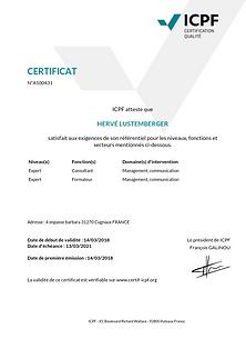 certificat janv 2020  nouvau LOGO LUSTEM
