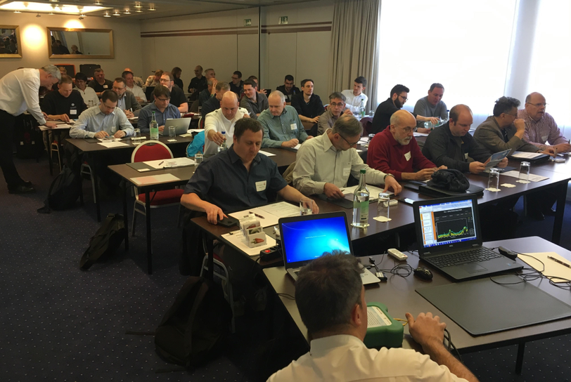 Attending the Powerline communication in smart meter networks seminar in Aarau Switzerland