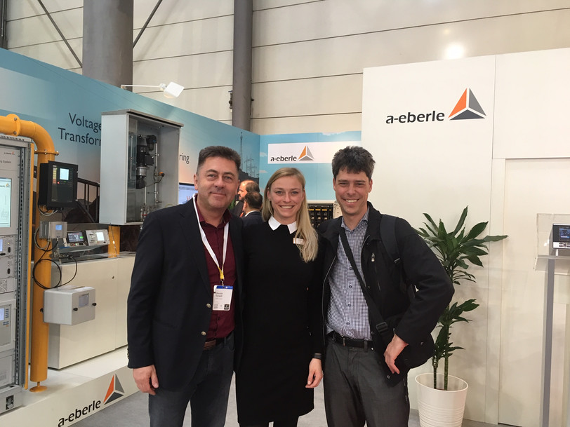 EnerVIZOR has attended the Hannover Messe