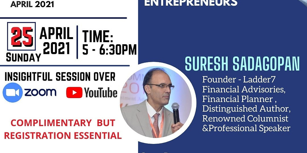 Entrepreneurs Connect- A Virtual Meet