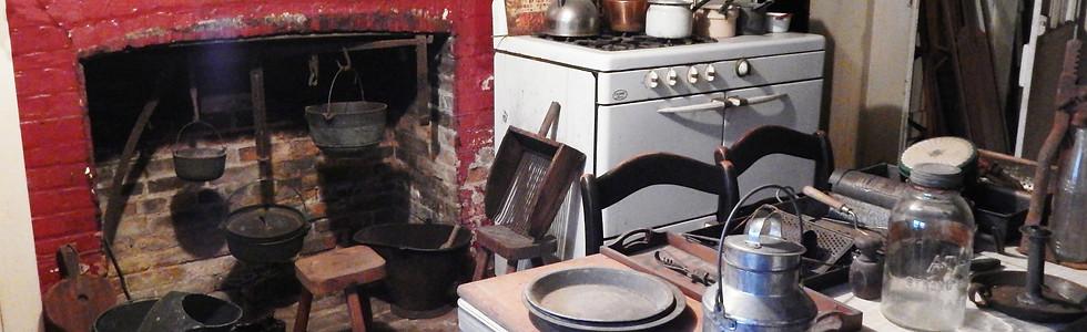 1840 Keeping Room, original kitchen, basement