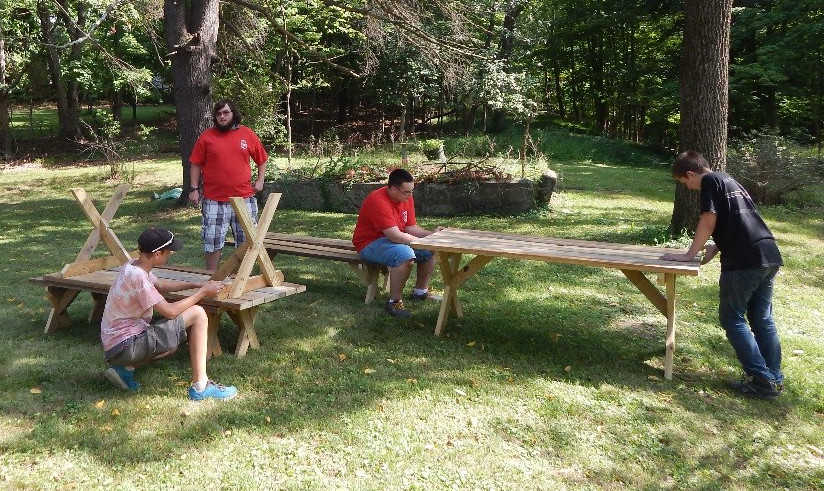 Levi Ward Eagle Award, Picnic Tables and