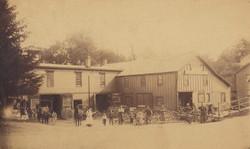 Green Blacksmith Shop