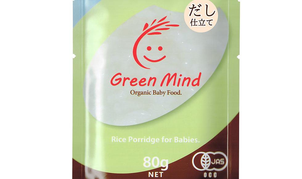 有機JAS認証・無添加仕上げの離乳食 赤ちゃんのためのお粥[だし仕立て/7ヵ月頃から]