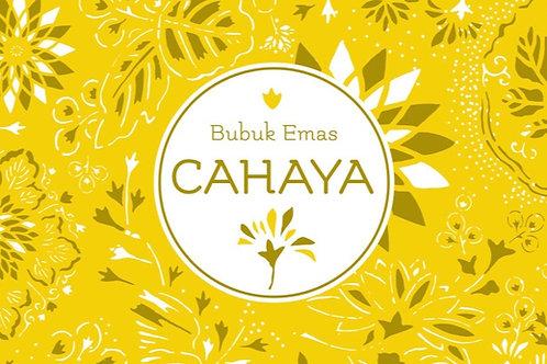 'limitiertes Probepäckchen' - Bubuk Emas Cahaya