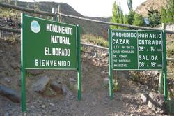 MONUMENTO NATURAL EL MORADO