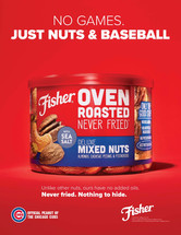 Fisher Nuts Chicago Cubs 2020