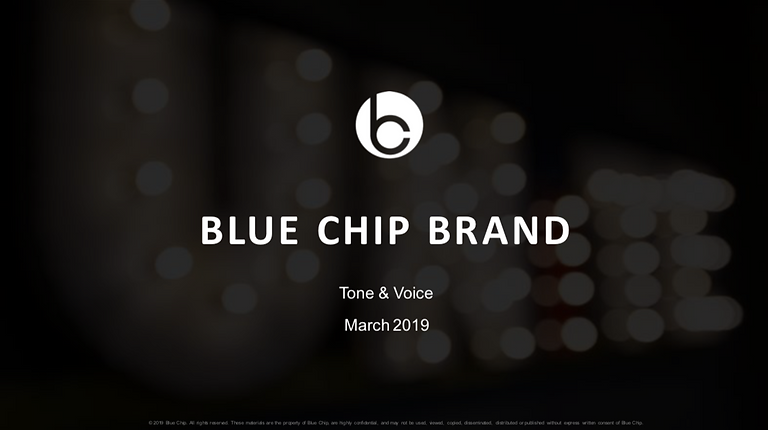 Blue Chip Brand Guide