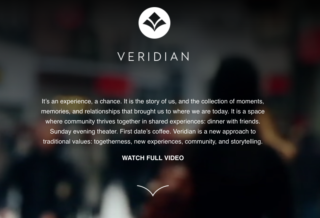 Veridian site image: home