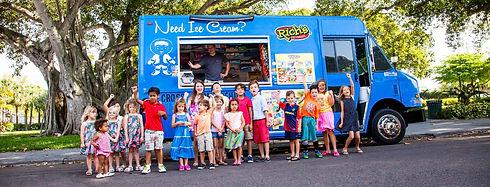 Rich's Ice Cream Supports Local Ice Cream Man