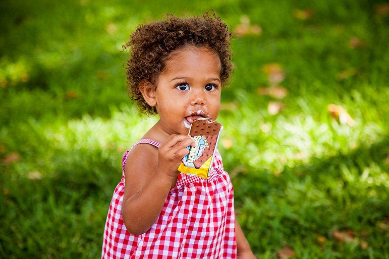 Nut Free Ice Cream Snack