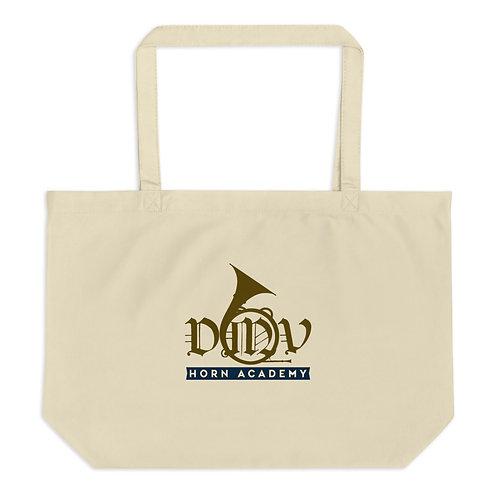DMV Horn Academy Large organic tote bag