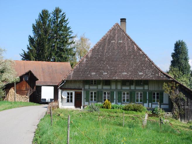 Umbau Bauernhaus - vorher
