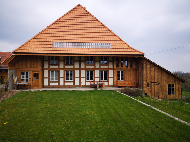 Umbau Bauernhaus - nachher