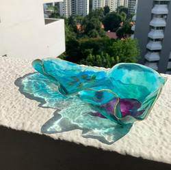 Ocean Flower || Resin Bowl