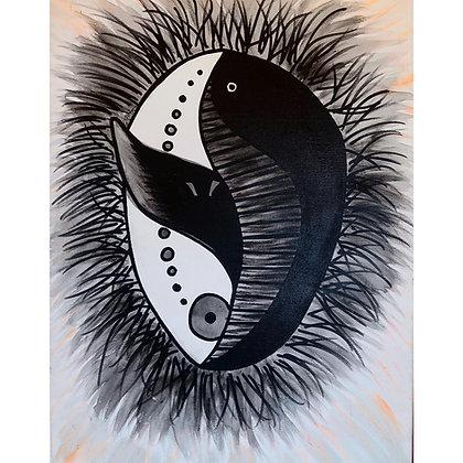 Bowhead Whale Spirit Mask