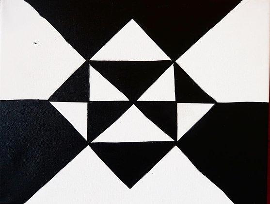 """Akimiat - Fifteen"" Canvas"