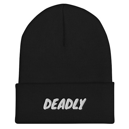 Just Real Deadly Cuffed Beanie