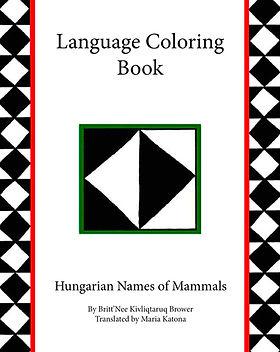 Hungarian Coloring Book_Names of Mammals
