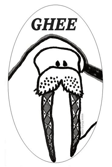 Ghee Sticker