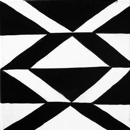 """""""Tallimat Pinasut - Eight"""" Canvas"""