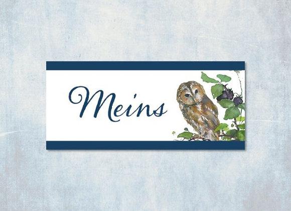Webetikett Meins Eule