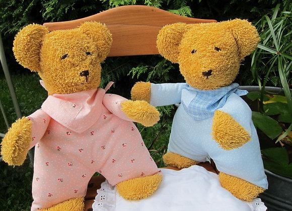 Stoffbären Henriette und Henry