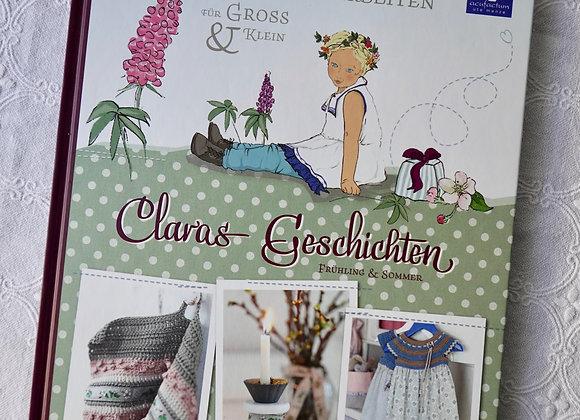 Handarbeitsbuch Claras Geschichten (Frühling & Sommer)