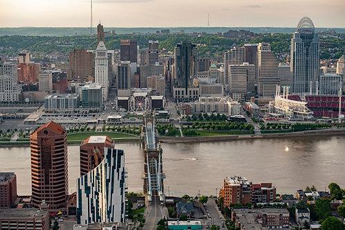 Cincinnati Skyline Tour for 2 passengers