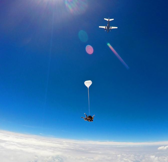 Skydiving... 4