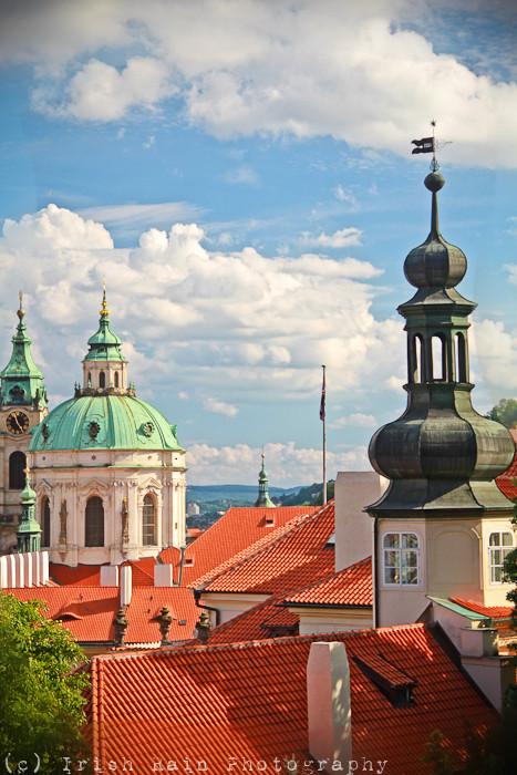 Prague's Rooftops...