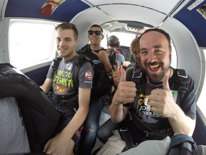 Skydiving... 1