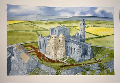 The Rock of Cashel - Ireland