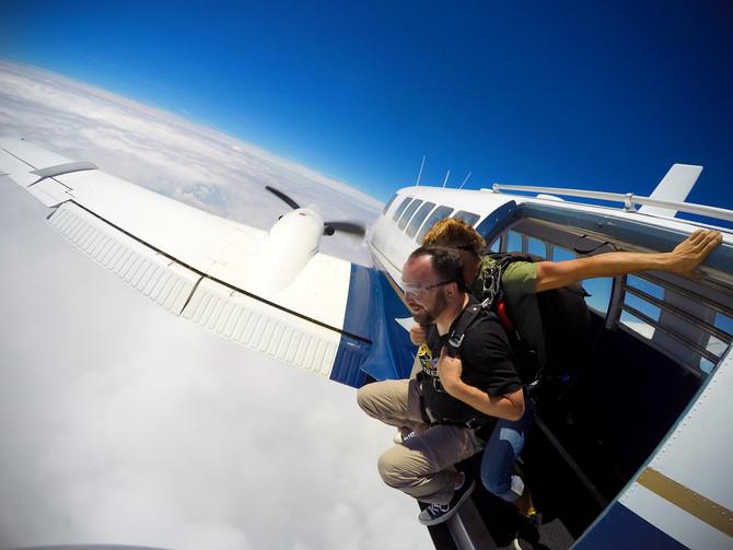 Skydiving... 2