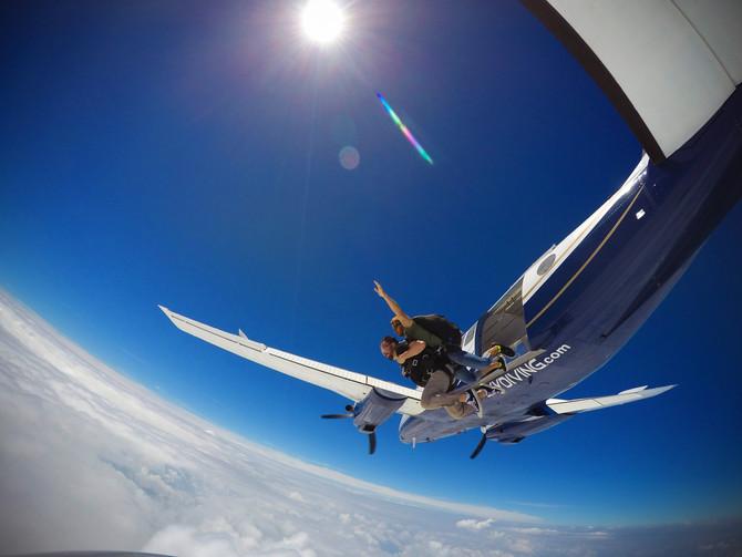 Skydiving... 3