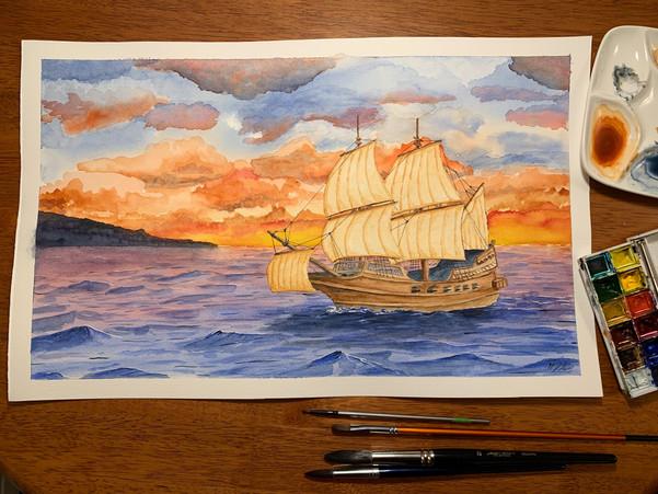 Sailing in Galway Bay - Ireland
