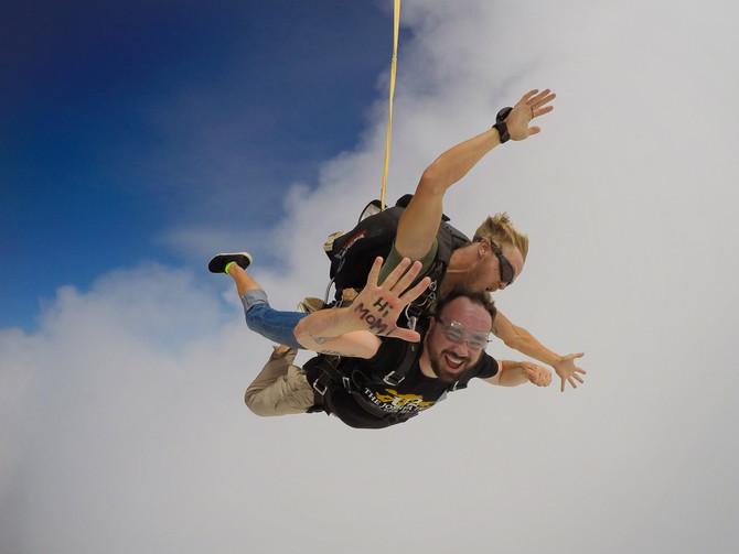 Skydiving... 5