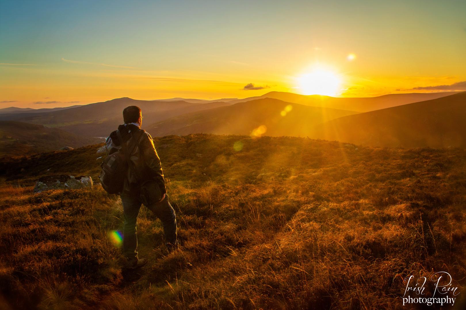 sunset photo wallace jones ireland irish
