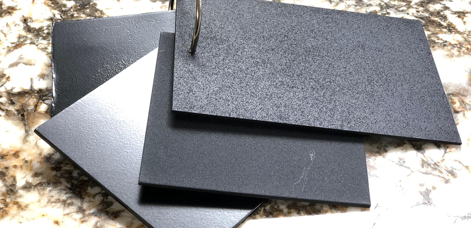 Powder Coat Texture Options