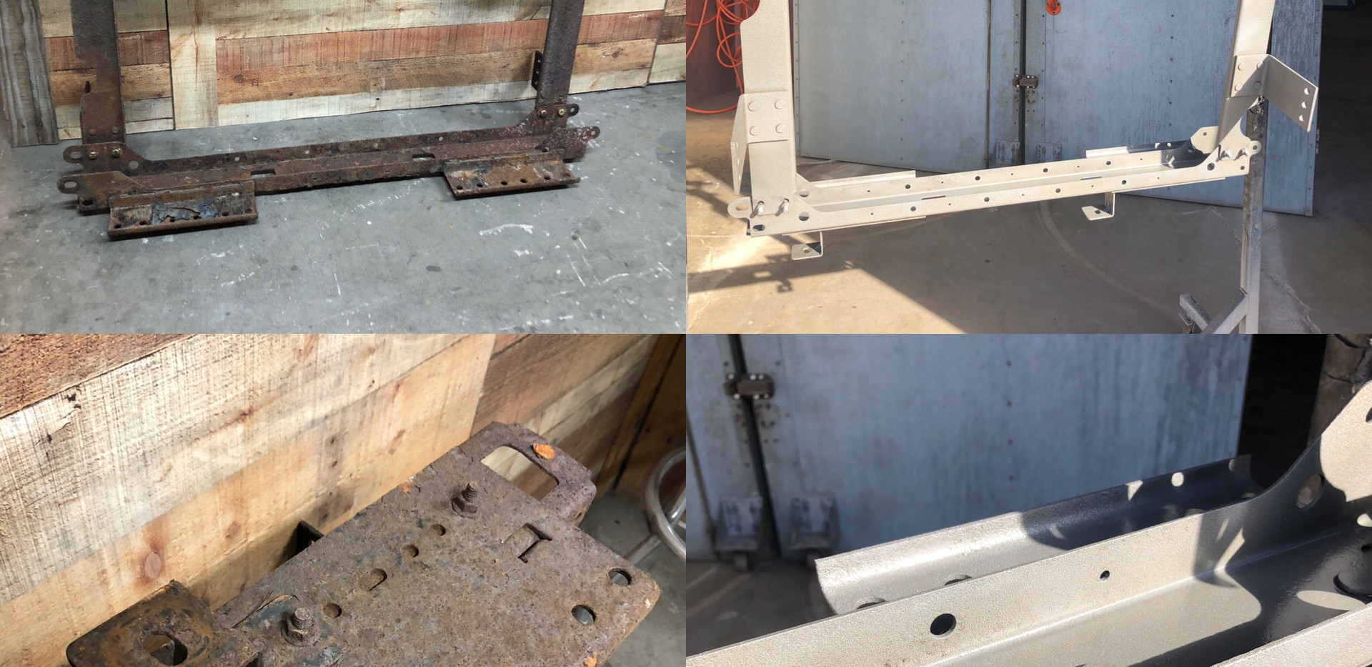 Truck Steel Repair with Powdercoat