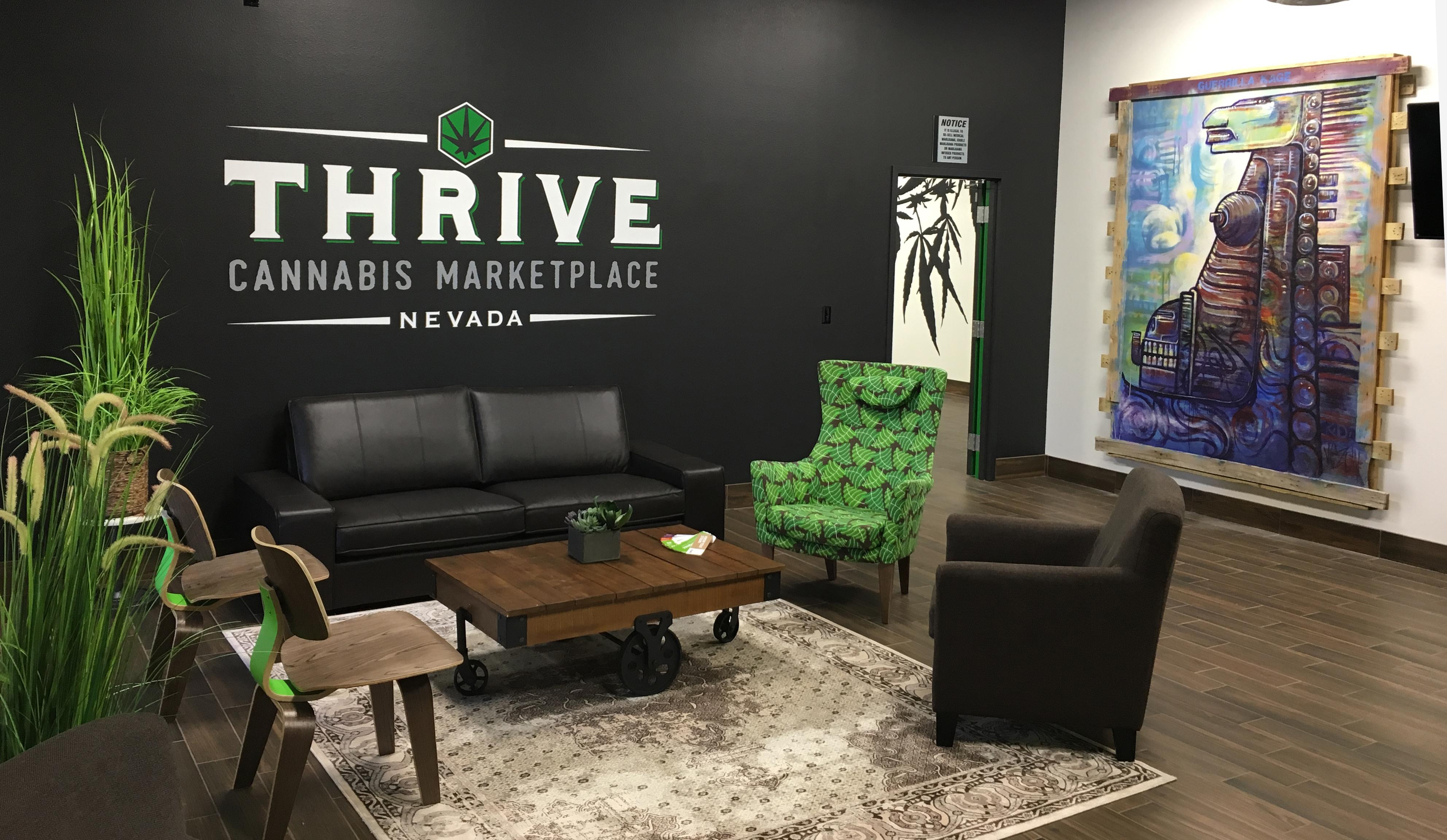 THRIVE lobby
