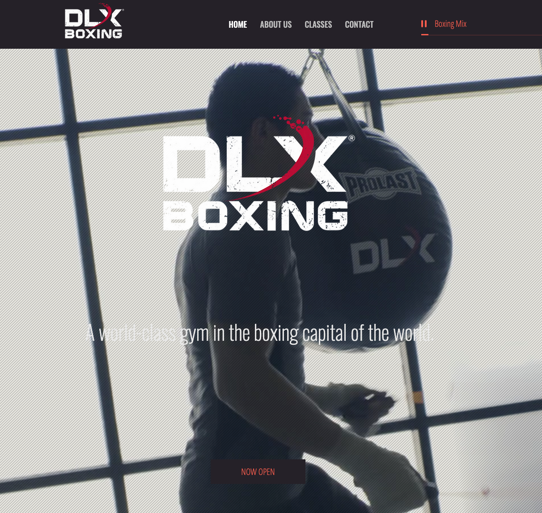 DLX Boxing Website