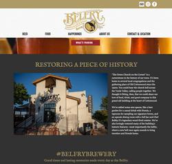 Belfry Brewery Website