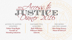 LAFLA Annual Fundraiser Dinner