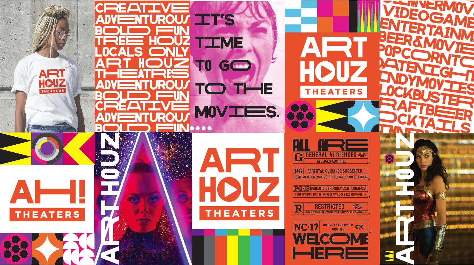 ArtHouz Theaters moodboard