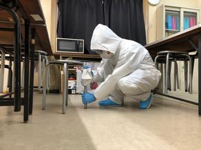 【コロナ消毒】作業実績紹介・11月・工場・愛知郡