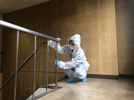 【コロナ消毒】作業実績紹介・11月・名古屋市内