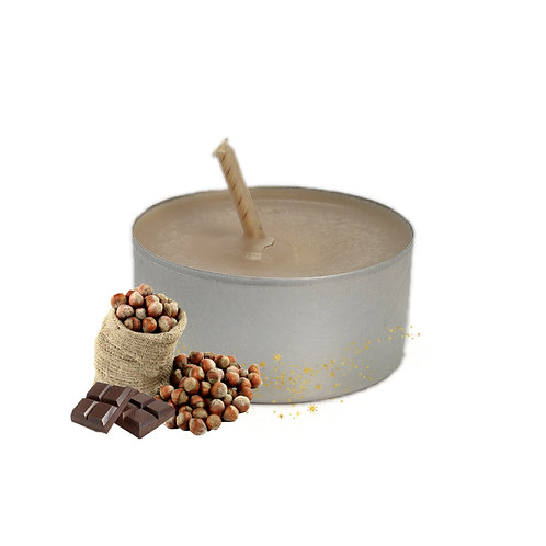 Lot de bougies chauffe-plats Chocolat Noisette