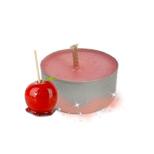 Lot de bougies chauffe-plats Pomme d'amour
