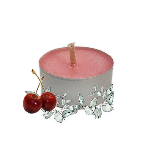 Lot de bougies chauffe-plats Cerise